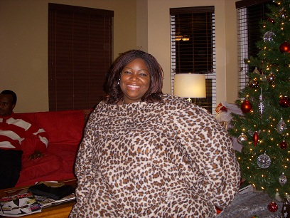 Me in My new Snuggie
