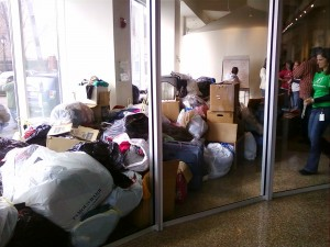 BBBS Clothes Drive for Haiti