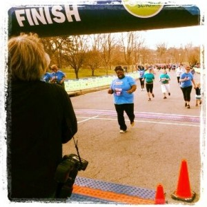 Go Stl 5K Finish Line