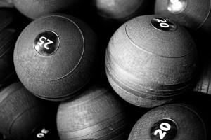 25 lbs slam balls