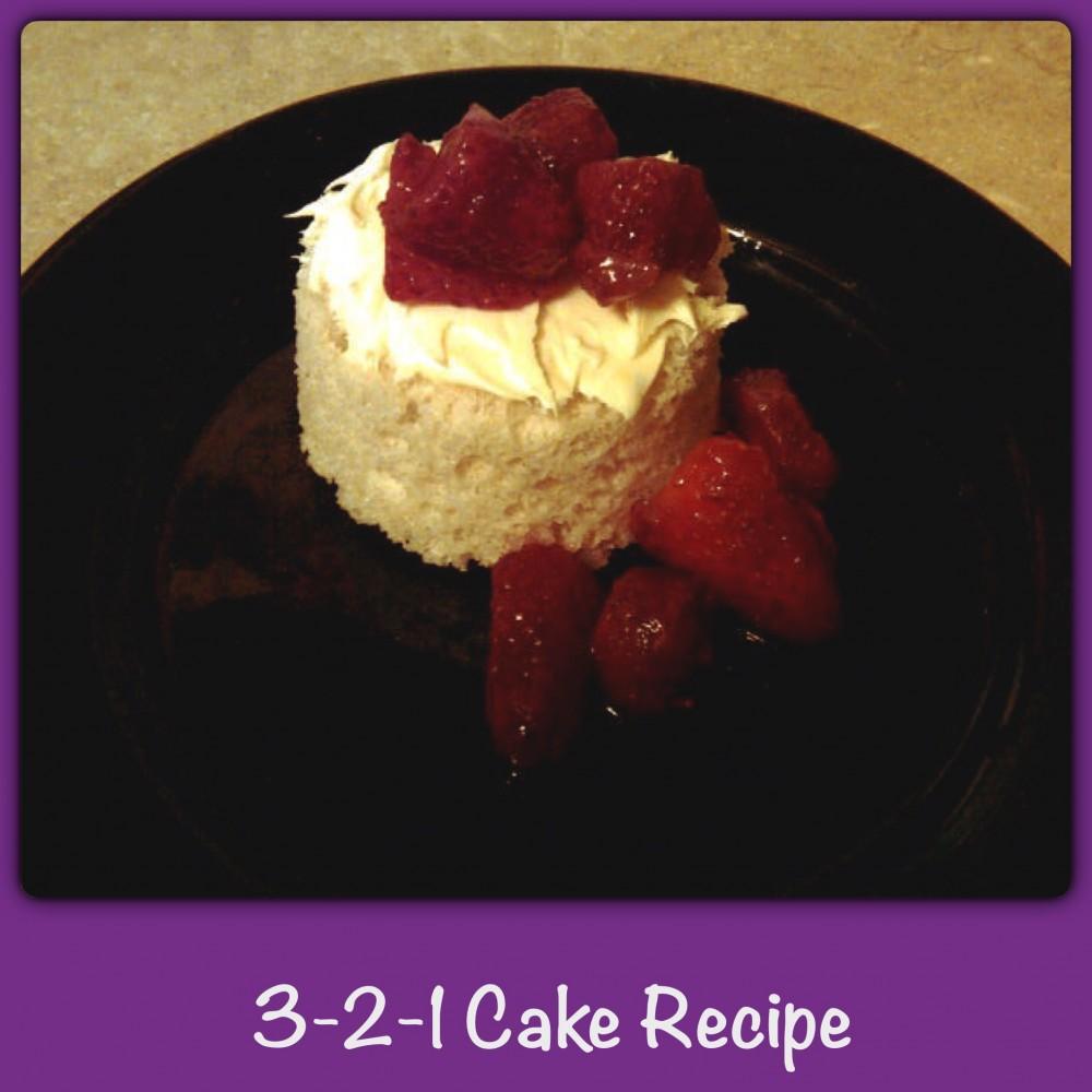 3-2-1 Cake